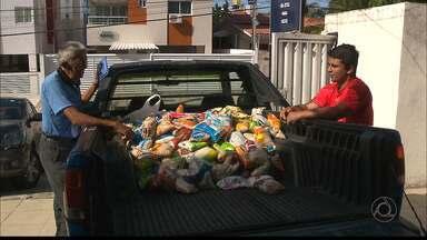 JPB2JP: Campanha Natal sem Fome recebe mais doações - Arrecadação de uma academia do bairro dos Bancários, na Capital.