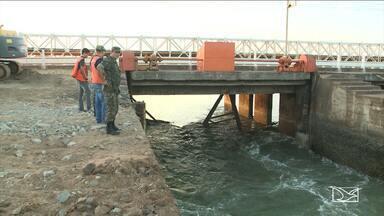 Nível de água do Lago do Bacanga será reduzido para conclusão de obra na barragem - Nível de água do Lago do Bacanga será reduzido para conclusão de obra na barragem
