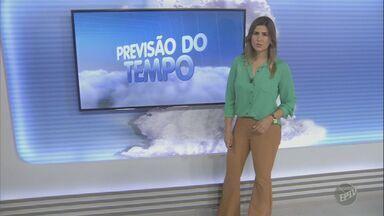 Região tem previsão de sol e pancadas de chuva neste final de semana - Em Campinas (SP) a previsão é de pancadas de chuva e possíveis trovoadas, com máxima de 28ºC.