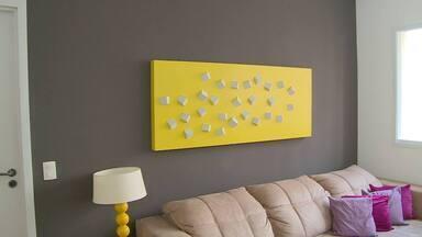 Dicas de cores e quadros para deixar a sua casa bonita - Assista ao vídeo