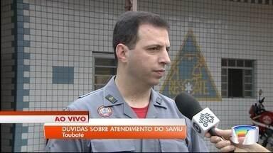 Tire dúvidas sobre o funcionamento do Samu - Serviço começou a funcionar há um mês em Taubaté.