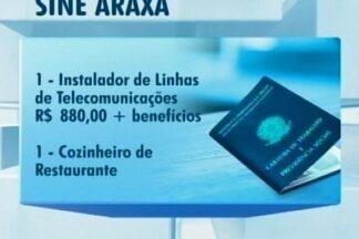 Sine de Araxá tem vagas de emprego disponíveis - Ofertas são para babá, administrador de redes, instalador de linhas, cozinheiro, lubrificador automotivo e repositor. Confira alguns salários.
