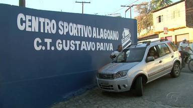 Mesmo com a chegada do final do ano, CSA inicia treinos com portões fechados no Mutange - Azulão treina a todo vapor pensando na temporada 2017.