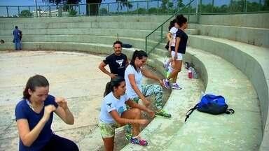 Atividade física ajuda a superar a depressão - A equipe do DFTV acompanha de perto o progresso dos participantes do Desafio de Verão.