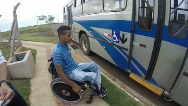 Cadeirantes têm dificuldades com locomoção em Campo Grande - Jeferson busca independência e quer ver seus direitos garantidos integralmente.