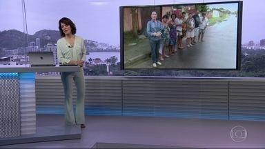 RJ Móvel cobra abastecimento de água em Duque de Caxias - Moradores dizem que a água chega irregularmente e pedem à Cedae a instalação de hidrômetro.