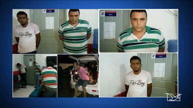 Presos os 11 suspeitos de assaltar a agência bancária de Fortaleza dos Nogueiras - Tentativa de arrombamento foi registrada na noite de terça-feira (13).