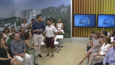 Participantes do Bem Verão aparecem transformados na final no Paraná TV - Especialistas e convidados também participaram do programa especial nesta quinta-feira.