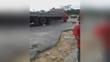 Adolescente morre atropelado em Manaus - Acidente ocorreu na Zona Leste.