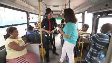 'Minha Vida no Buzu': reportagem mostra a rotina nos ônibus da capital baiana - Confira o quadro desta terça (6).