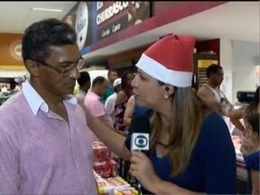 Veja como está a 'correria' dos atrasados para os preparativos da ceia - Katiuscia Reis mostra o movimento em supermercados
