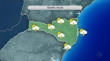 Sábado é de sol entre nuvens e calor em Santa Catarina; veja a previsão do tempo - Sábado é de sol entre nuvens e calor em Santa Catarina