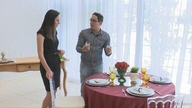 Veja dicas para arrumar a mesa para a ceia de Natal - Naldo Alves dá dicas sobre decoração.