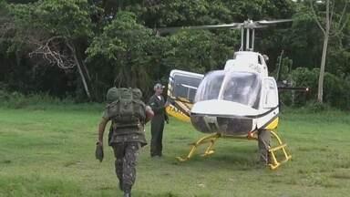 3 morrem em acidente de avião que saiu de Tefé-AM - Avião foi localizado no fim da tarde desta sexta-feira (23).