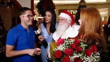 Que tal um pedido de casamento como presente de Natal? - Casal cearense recebe ajudinha do Se Liga VM e do Papai Noel (e também papai da noiva) em surpresa emocionante.