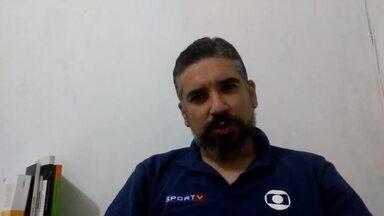 Opinião: Neto Baiano deve ficar com camisa 9 do CRB - Jornalista Victor Mélo analisa centroavantes do Galo