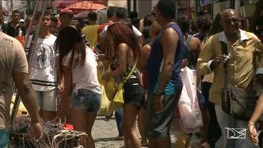 Comércio é movimentado na véspera de Natal em São Luís - Comércio é movimentado na véspera de Natal em São Luís