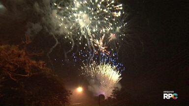Bombeiros dão dicas para manuseio de fogos de artifício - Cuidado para festa não virar uma tragédia