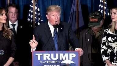 Disputa pelo cargo mais poderoso do mundo teve final inesperado - O azarão Donald Trump foi eleito presidente dos Estados Unidos. Campanha eleitoral agressiva durou longos meses.