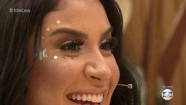 Bianca Andrade ensina maquiagem iluminada para arrasar no réveillon - Blogueira dá dica de look ousado para passar a virada do ano
