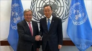 Ban Ki-Moon se despede do comando da ONU após uma década como secretário-geral - O secretário-geral da ONU fez todo mundo rir ao dizer que estava se sentindo como a Cinderella, porque à meia-noite tudo vai mudar. A partir de 1º de janeiro, o português Antonio Guterres assume o cargo.