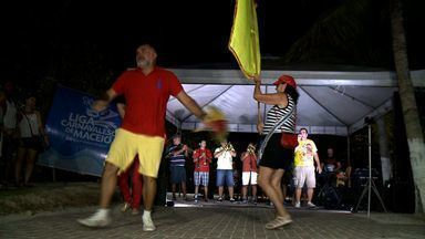 Foliões já entram em clima de carnaval em Alagoas - Ano ainda nem acabou e tem gente se programando para a folia.