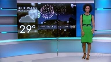 Veja a previsão do tempo para a noite da virada e para o domingo (1º) nas capitais - Veja a previsão do tempo para a noite da virada e para o domingo (1º) nas capitais do Brasil.