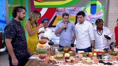 Chef conta curiosidades sobre os doces de compota - Tanea Romão é especialista em conservação de alimentos e já criou mais de 2 mil sabores em conservas