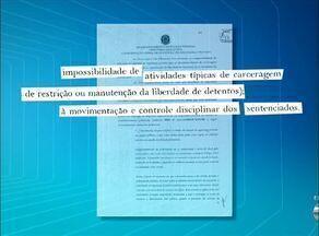 Documentos mostram que Umanizzare não tem autorização para atuar em presídios - Documentos mostram que Umanizzare não tem autorização para atuar em presídios
