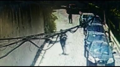 Moradores da Glória instalam câmeras de segurança para tentar diminuir a violência - Assaltos viraram rotina no bairro