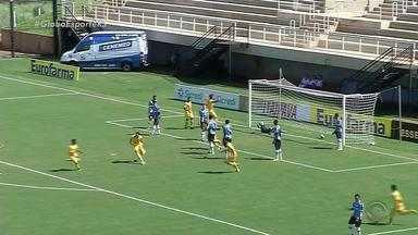 Grêmio perde para o Mirassol e está fora da Copinha - Partida terminou em 1 a 0.