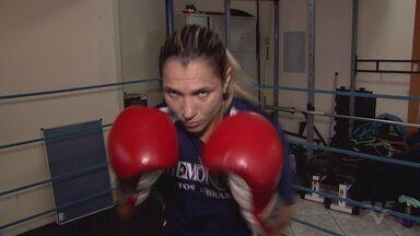 Pugilista Rose Valente quer ser campeã mundial - Ela treina na região e quer marcar o nome dela na modalidade.