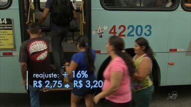 Passagem de ônibus em Fortaleza vai custar R$ 3,20 - Reajuste é de mais de 16%.