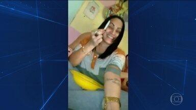 Vídeo mostra festa de presas de colônia penal do Recife - Elas tiraram fotos com celulares, dançaram, beberam e consumiram drogas.