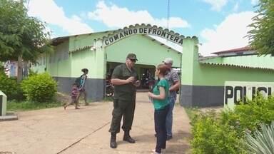 Após massacre e fugas, segurança na fronteira do Brasil e Colômbia é reforçada - Em Manaus, 64 presos foram assassinados e 184 fugiram