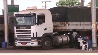 Cresce número de assaltos a caminhoneiros em Bacabal, MA - No inicio da semana um veículo que transportava combustível foi alvo dos criminosos na BR-135, em Miranda do Norte.