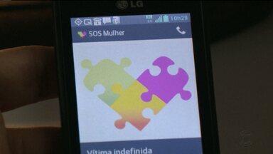 Aplicativo de celular aciona a polícia em caso de violência contra mulher - As mulheres vítimas de violência que estiverem sob medida protetiva podem contar com o aplicativo SOS Mulher que envia um sinal para a polícia em caso de ocorrência.
