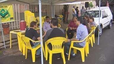 Servidores da Justiça do Amapá retomam com greve após o recesso do judiciário - Os profissionais pedem reposições de perdas salariais.