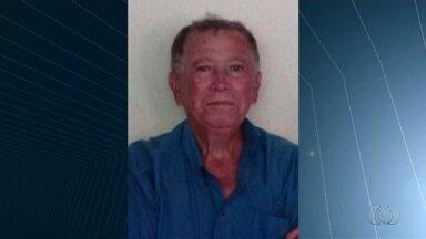 Família procura por idoso com Alzheimer que sumiu em Goiânia - José Caetano da Silva, 72, está desaparecido desde a tarde de terça-feira.