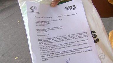 INSS esclarece dúvidas sobre revisão de auxílio - Gerente executivo do INSS no Recife explica quem precisa comparecer.