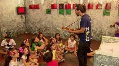 Paço do Frevo é opção de diversão para crianças nas férias - Programação é variada e aberta ao público.