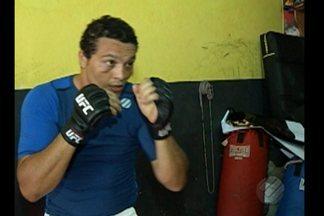 """Luis Henrique """"Frankenstein"""" se prepara para próxima luta no UFC - Luis Henrique """"Frankenstein"""" se prepara para próxima luta no UFC"""