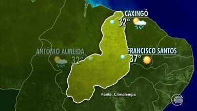 Confira a previsão do tempo desta quarta-feira - Confira a previsão do tempo desta quarta-feira