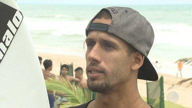 Baiano Bino Lopes passa próximo da chance de conseguir uma vaga na 'elite' do Surfe - Mesmo sem conseguir, não existe frustração. O atleta garante que está ainda mais motivado para conseguir seu grande objetivo.