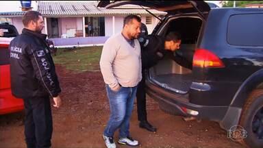 Vereador preso toma posse na Penitenciária Industrial de Cascavel - Ele foi o vereador mais votado em Quedas do Iguaçu.