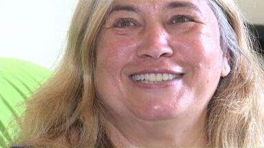 No dia internacional do riso conheça a Judite que deu um basta na vergonha de sorrir - Ela fez um tratamento dentário na clínica da Universidade Estadual de Maringá