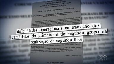 UFG decide anular prova de residência médica, em Goiás - Alunos da universidade denunciaram irregularidades no processo seletivo.