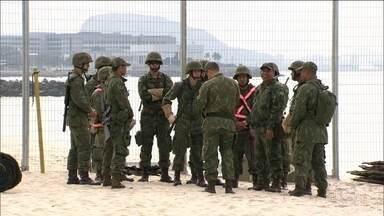 Forças Armadas farão varredura em presídios como na Olimpíada - Revistas nas celas só começam depois que presos estiverem isolados.Em Brasília, mais um dia de reuniões sobre a crise carcerária.