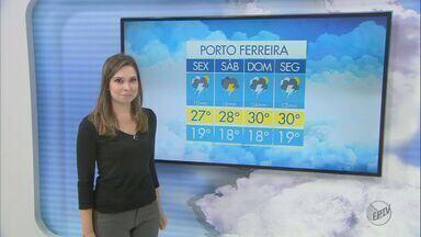 Confira a previsão do tempo na região para o fim de semana - Confira a previsão do tempo para São Carlos e região.