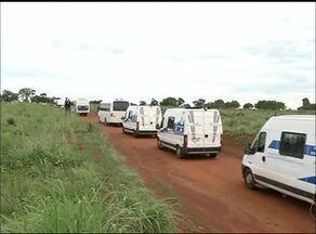 Presos do presídio de Cariri do Tocantins são transferidos para Palmas - Presos do presídio de Cariri do Tocantins são transferidos para Palmas